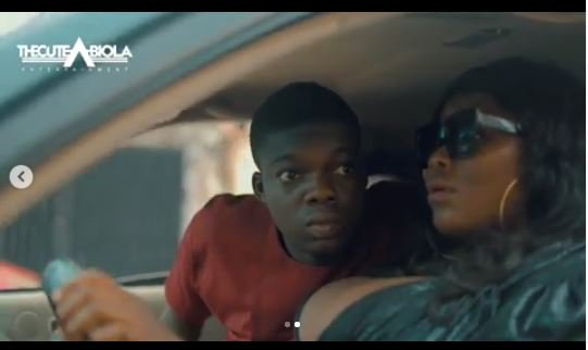 LMAO!! Watch This Hilarious Skit Of How The Cute Abiola Dumps His Girlfriend For A Cab Driver (Video)