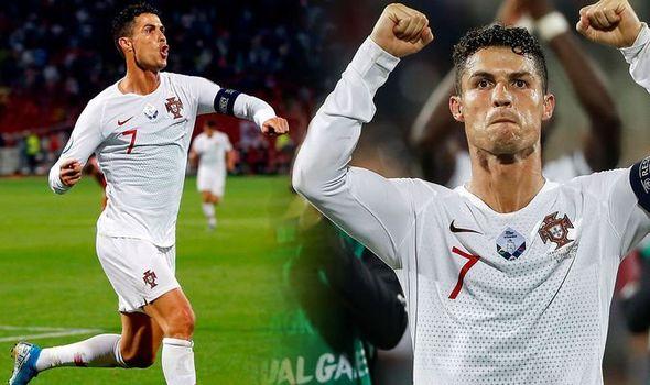 Cristiano Ronaldo set another record
