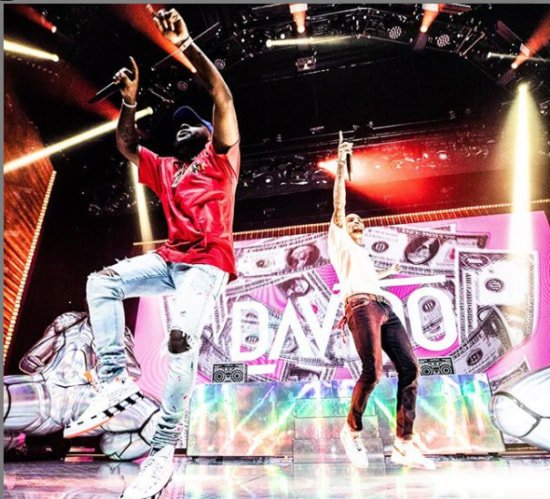Davido And Chris Brown Perform Together At Barclays Centre (Photos