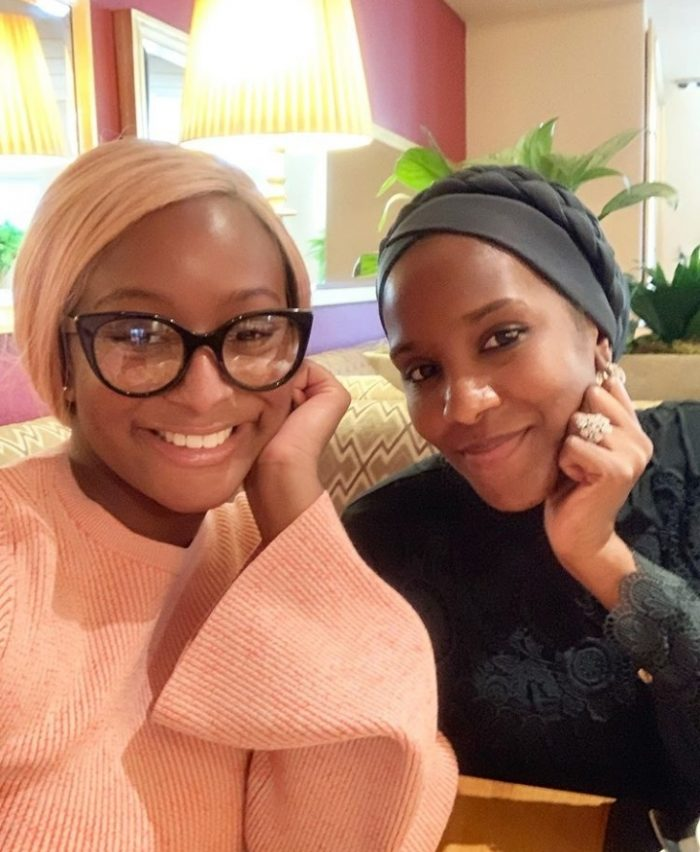Billionaires' Daughters, DJ Cuppy And Dangote's Daughter Pictured Together