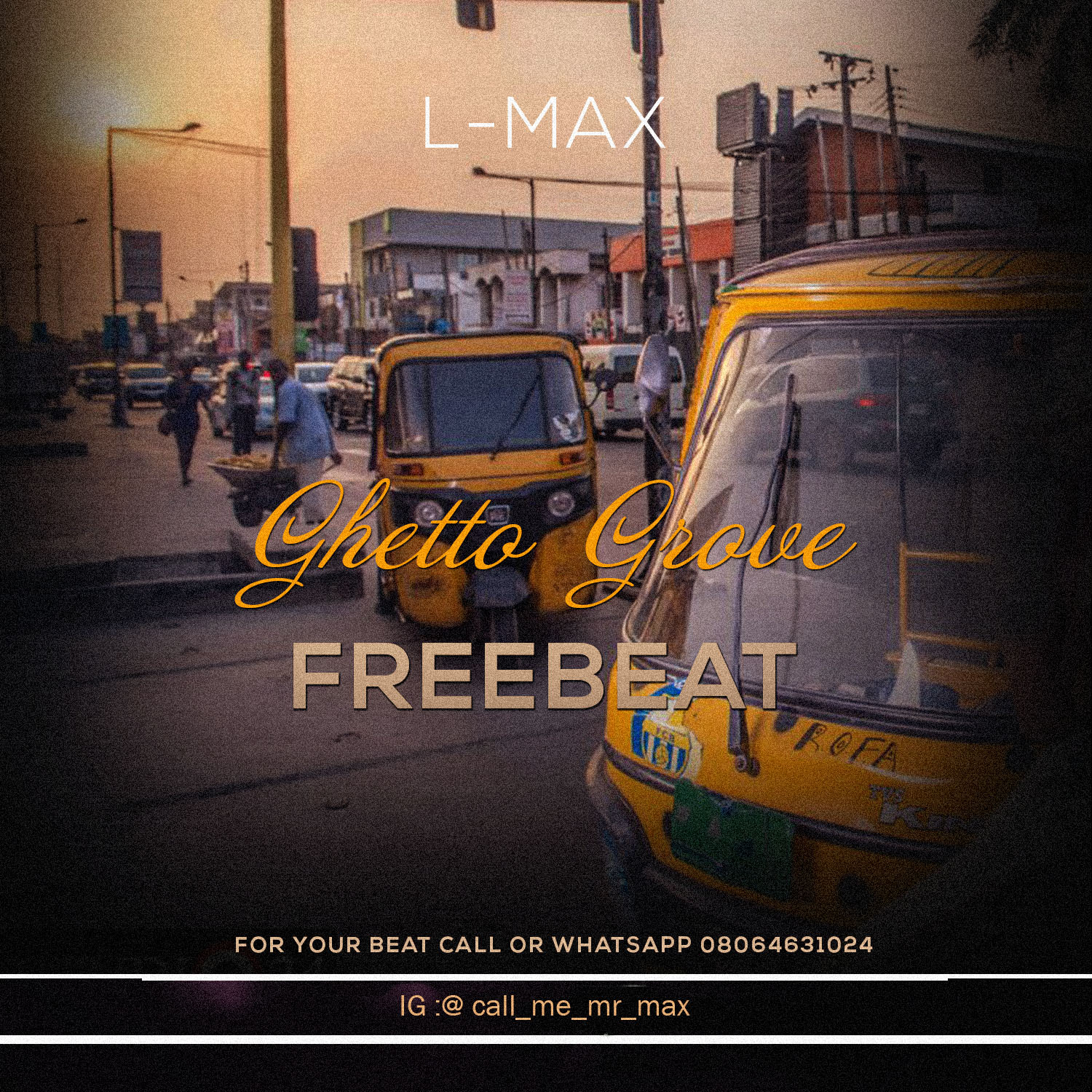 [Free Beat] Ghetto Love – Produced by Lmax