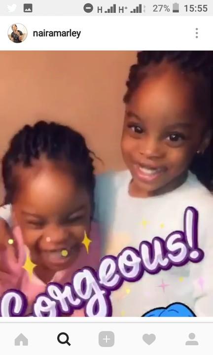 Naira Marley Celebrates His Daughters, Taiye And Kehinde