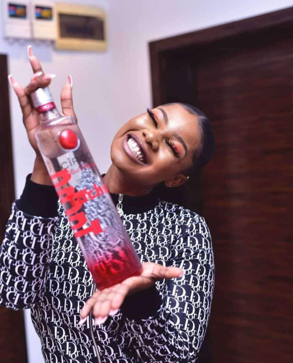 Tacha signs endorsement deal with Ciroc Vodka (Video)