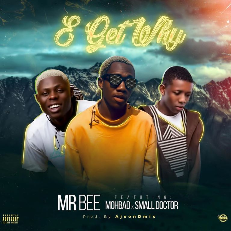 [Music] Download Mp3: Mr Bee Ft. Mohbad & Small Doctor – E Get Why