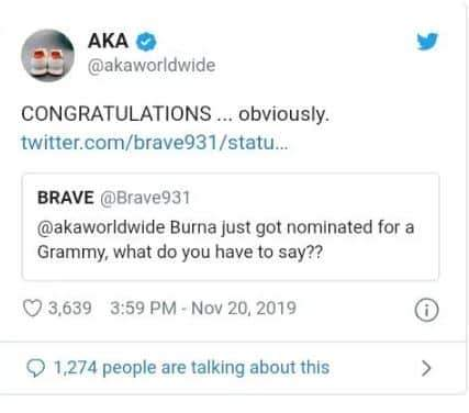 Rapper AKA