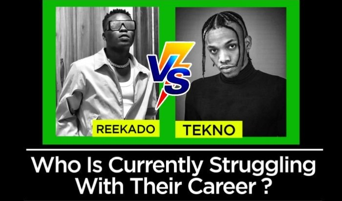 Be Sincere: Reekador Banks Vs Tekno, Who Is Currently Struggling With Their Career ?