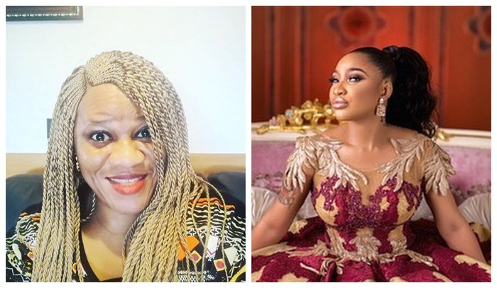 Tonto Dikeh And Bobrisky Battle Blogger, Stella Dimoko On Twitter (See Dirty Secrets Exposed)