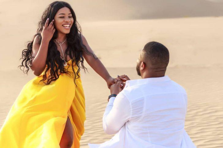 Linda Ikeji's Sister, Sandra Set To Wed With 200 Bridesmaids (Photos)