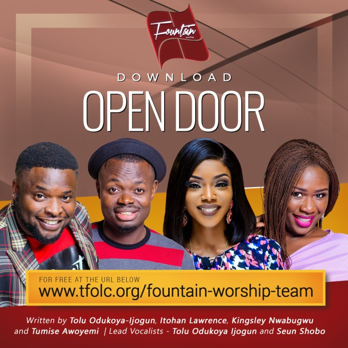 [Music] Fountain Worship Team – Open door