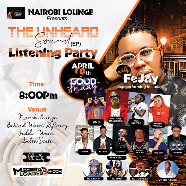 FeJay – Unheard Sound Listening Party