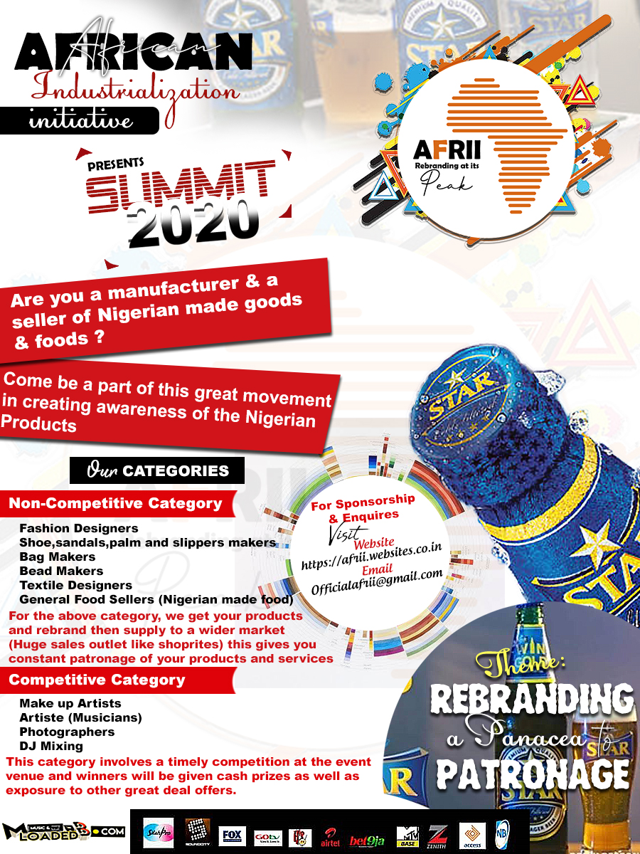 [AFRII] African Industrialization Initiative – Summit 2020