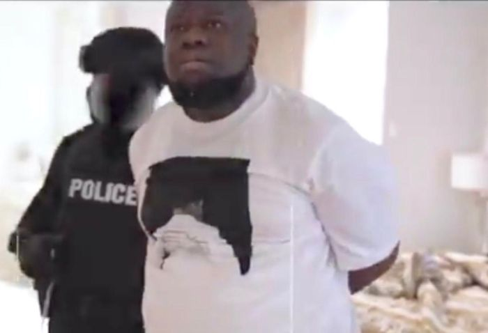 JUST IN!! The Arrest Of Alleged Nigerian Fraudster Hushpuppi (See Video Of His Arrest)